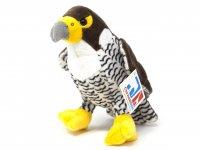 Kuscheltier - Falke weiß - 18 cm