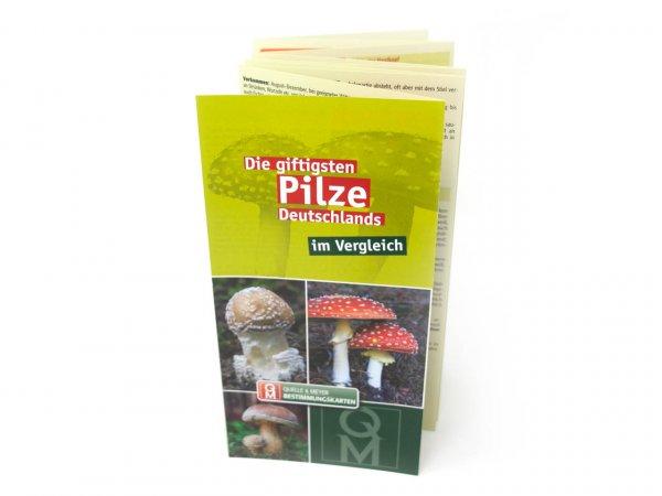 Bestimmungskarte - Die giftigsten Pilze Deutschlands