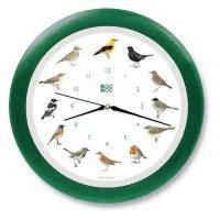 KooKoo Wanduhr - Singvögel mit Quarzwerk - 34cm,...