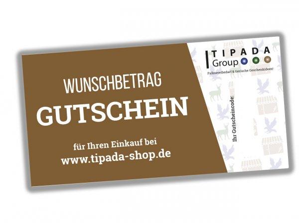 TIPADA Geschenk-Gutschein - Mail