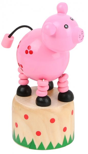 Drücktier Bauernhof - Schwein