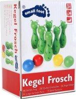 """Kegelspiel für Kinder """"Frosch"""""""