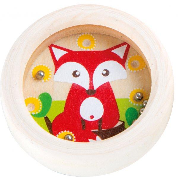 Mini Kugel Geduldsspiel - Fuchs