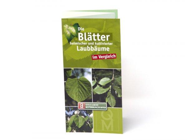 Bestimmungskarte - Die Blätter heimischer und kultivierter Laubbäume