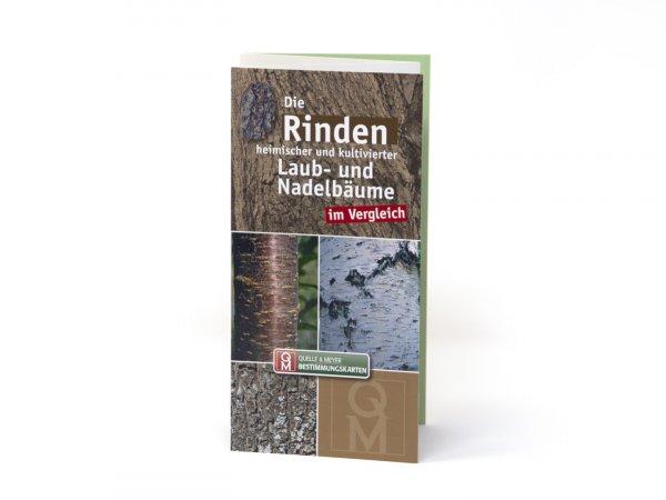 Bestimmungskarte - Die Rinden heimischer und kultivierter Laub- und Nadelbäume