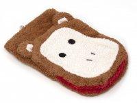 Waschhandschuh Affenmotiv