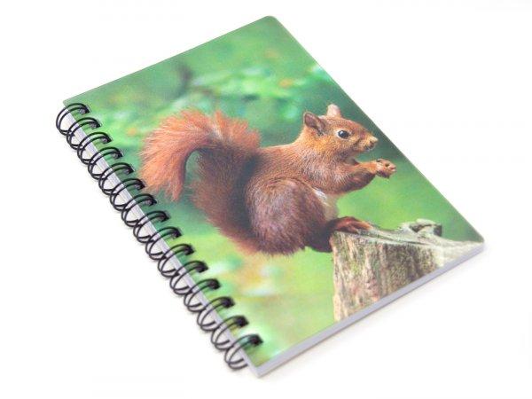 3D Notizbuch - Eichhörnchen - klein