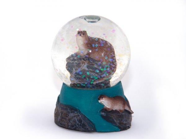 Schneekugel Poly Mini - Otter