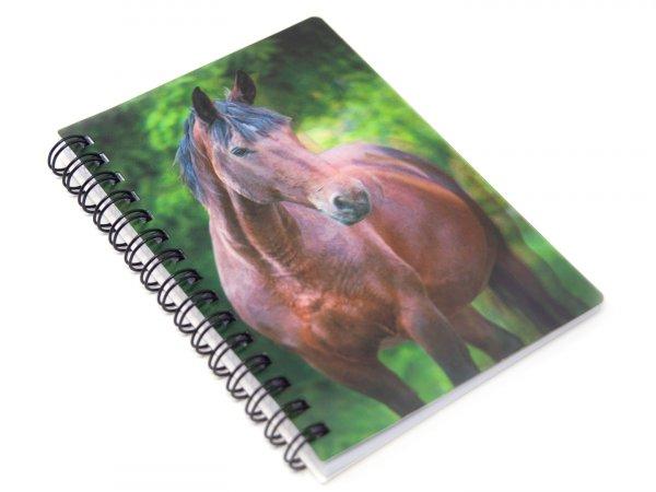 3D Notizbuch - Pferd - klein