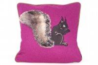 Steen Design Kissen - Eichhörnchen Loden Pink - 45x45